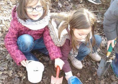 Bombes de graines - Collecte de terre